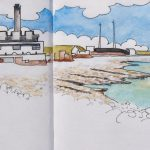 Sketch of the Aberthaw Power Station
