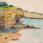 Sketch from Atlantic College, Llantwit Major