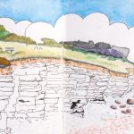 Dim Hole on the Heritage Coast by artist Martin Kaye