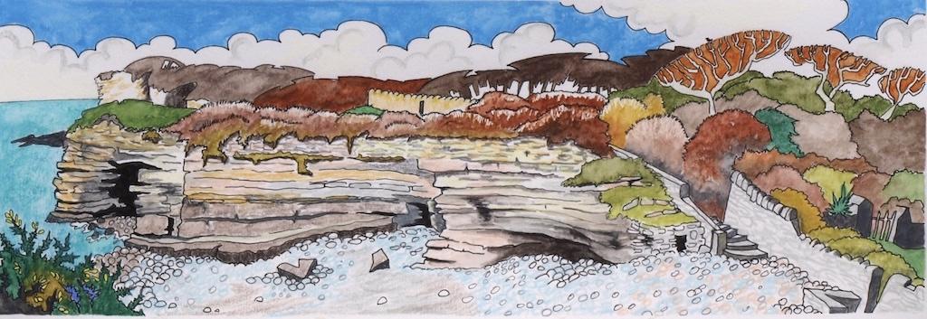 Reynard's Cave Tresilian Bay